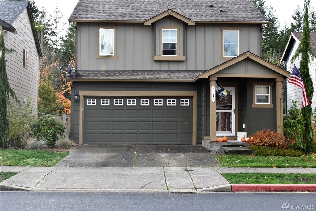 Photo of home for sale at 3676 London Lp Se, Lacey WA